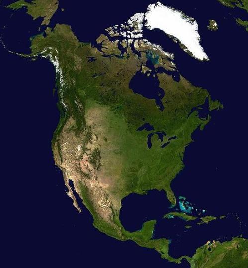 mapa-america-norte-satelite